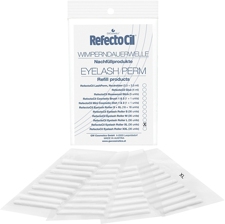 Eyelash Perm, XL - RefectoCil — photo N3
