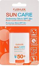 Fragrances, Perfumes, Cosmetics Sunscreen Stick SPF50+ - Floslek Sun Care Protective Stick SPF50+