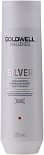 Fragrances, Perfumes, Cosmetics Correcting Shampoo for Gray & Blonde Hair - Goldwell Dualsenses Silver