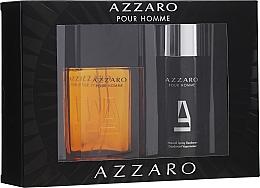 Fragrances, Perfumes, Cosmetics Azzaro pour homme - Set (edt/100ml + deo/150ml)