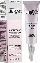 Fragrances, Perfumes, Cosmetics Soothing Eye Gel - Lierac Dioptipoche Puffiness Correction Smoothing Gel