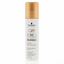 "Fragrances, Perfumes, Cosmetics Satin Spray ""Rejuvenating"" - Schwarzkopf Professional Bonacure Rejuvenating Spray Q10 Plus"