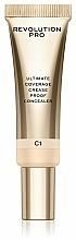 Fragrances, Perfumes, Cosmetics Concealer - Makeup Revolution Pro Ultimate Coverage Crease Proof Concealer
