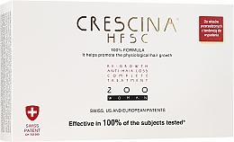 Fragrances, Perfumes, Cosmetics Women Anti Hair Loss Treatment Complex 200 - Crescina Re-Growth HFSC Formula 100%