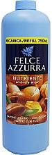 Fragrances, Perfumes, Cosmetics Liquid Soap - Felce Azzurra Nutriente Amber & Argan (refill)