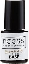 Fragrances, Perfumes, Cosmetics Clear Nail Gel Base - Neess Extremely Hard Base