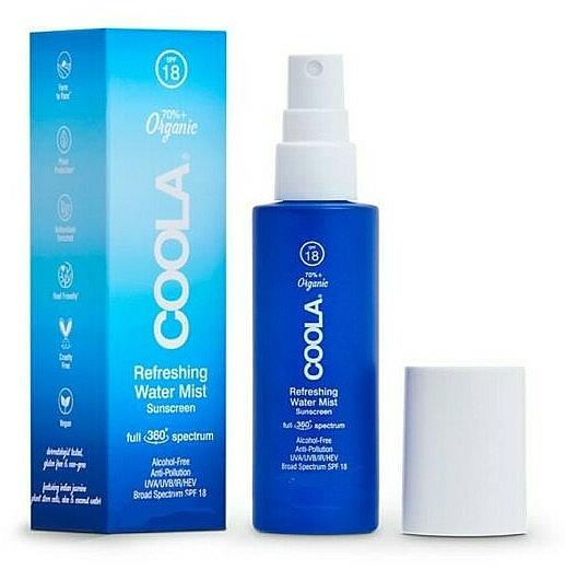 Facial Mist - Coola Full Spectrum 360 Refreshing Water Mist Sunscreen SPF 18 — photo N1