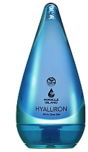Fragrances, Perfumes, Cosmetics Hyaluronic Acid Face and Body Gel - Miracle Island