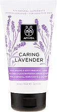 Fragrances, Perfumes, Cosmetics Moisturizing & Soothing Lavender Body Cream for Sensitive Skin - Apivita Caring Lavender Hydrating Soothing Body Lotion