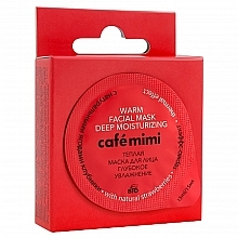 """Fragrances, Perfumes, Cosmetics Warm Face Mask with Natural Strawberries """"Deep Hydration"""" - Café Mimi"""