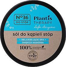 Fragrances, Perfumes, Cosmetics Foot Salt - Pharma CF No.36 Plantis Therapy Foot Bath Salt