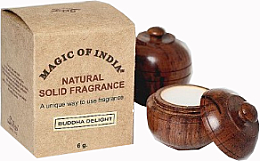 "Fragrances, Perfumes, Cosmetics Natural Solid Fragrance Cream ""Buddha Delight"" - Shamasa"