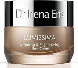 Fragrances, Perfumes, Cosmetics Replenishing Night Cream - Dr. Irena Eris Lumissima Whitening & Regenerating Night Cream
