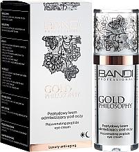 Fragrances, Perfumes, Cosmetics Eye Contour Peptide Cream - Bandi Professional Gold Philosophy Rejuvenating Peptide Eye Cream