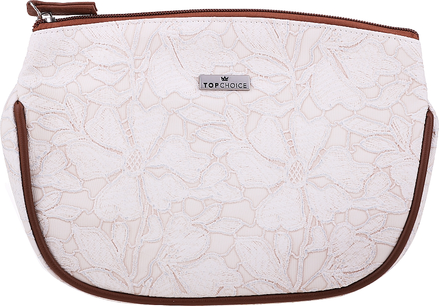 "Makeup Bag ""Lace"", 98598, creamy - Top Choice — photo N1"
