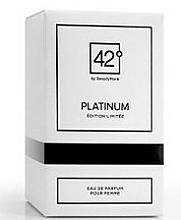 Fragrances, Perfumes, Cosmetics 42° by Beauty More Platinum Edition Limitee Pour Femme - Eau de Parfum