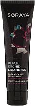 Fragrances, Perfumes, Cosmetics Smoothing Hand Cream with Silk Proteins - Soraya Black Orchid & Diamonds Smoothing Hand Cream