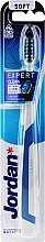 Fragrances, Perfumes, Cosmetics Expert Clean Soft Toothbrush, gray-dark blue - Jordan Tandenborstel Expert Clean Soft