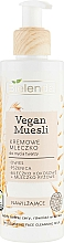 Fragrances, Perfumes, Cosmetics Moisturizing Face Wash Milk - Bielenda Vegan Muesli Moisturizing Face Cleaning Milk