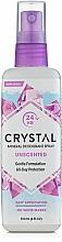 Fragrances, Perfumes, Cosmetics Body Deodorant Spray - Crystal Body Deodorant Spray