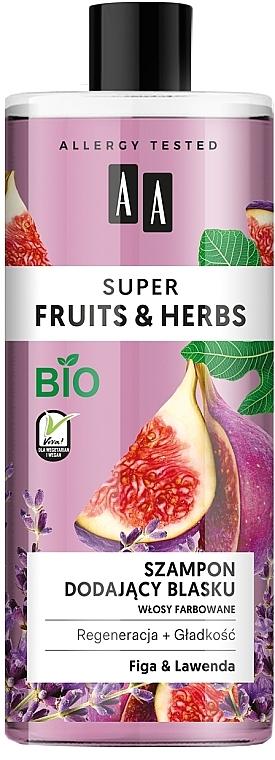 "Shine Shampoo ""Figs & Lavender"" - AA Super Fruits & Herbs Shampoo Fig & Lavender"
