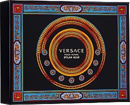 Fragrances, Perfumes, Cosmetics Versace Pour Femme Dylan Blue - Set (edp/50ml + b/l/50ml + s/g/50ml)