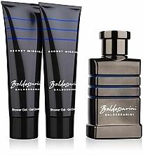 Fragrances, Perfumes, Cosmetics Baldessarini Secret Mission - Set (edt 50ml + s/g 50ml + s/g 50ml)