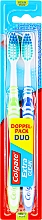 "Fragrances, Perfumes, Cosmetics Set ""Extra Clean"", medium, light green + dark blue - Colgate Expert Cleaning Medium Toothbrush"