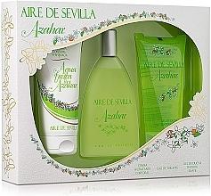 Fragrances, Perfumes, Cosmetics Instituto Espanol Aire de Sevilla Azahar - Set (edt/150ml + b/cr/150ml + sh/gel/150ml)