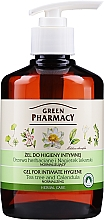 Fragrances, Perfumes, Cosmetics Intimate Hygiene Gel with Calendula and Tea Tree Extracts - Green Pharmacy