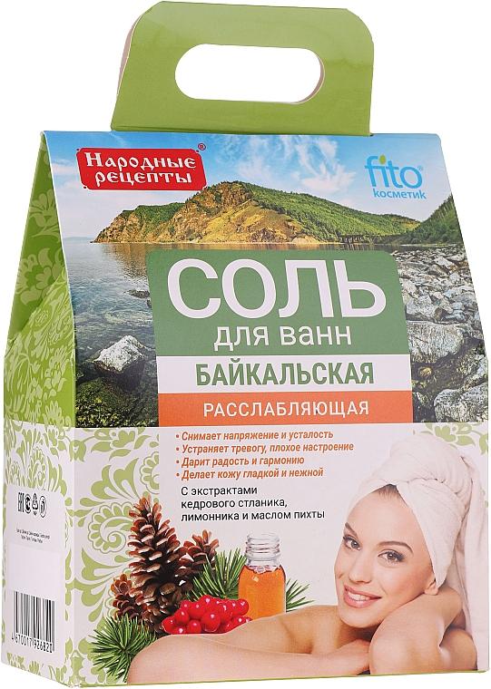 "Relaxing Bath Salt ""Baikal"" - Fito Cosmetics"