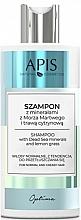 Fragrances, Perfumes, Cosmetics Dead Sea Mineral & Lemongrass Shampoo - Apis Optima