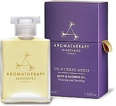 Fragrances, Perfumes, Cosmetics Anti-Stress Bath & Shower Oil - Aromatherapy Associates De-Stress Mind Bath & Shower Oil