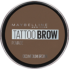 Fragrances, Perfumes, Cosmetics Brow Pomade - Maybelline Tattoo Brow Pomade