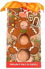 "Fragrances, Perfumes, Cosmetics Kids Fizzy Bombs ""Gingerbread"" - Chlapu Chlap"