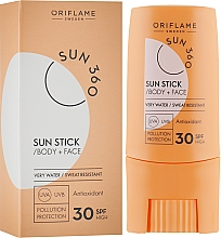 Fragrances, Perfumes, Cosmetics Sun Stick for Face and Body - Oriflame Sun 360 Sun Stick SPF 30