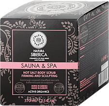 "Fragrances, Perfumes, Cosmetics Hot Salt Body Scrub ""Anti-Cellulite"" - Natura Siberica"