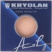Fragrances, Perfumes, Cosmetics Compact Powder - Kryolan Cake Make-up