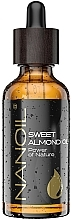 Fragrances, Perfumes, Cosmetics Almond Oil - Nanoil Body Face and Hair Sweet Almond Oil