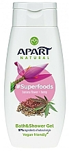 Fragrances, Perfumes, Cosmetics Shower Gel - Apart Natural Superfoods Banana Flower and Hemp