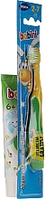 Fragrances, Perfumes, Cosmetics Set with Yellow & GreenToothbrush - Bobini 2-7 (toothbrush + toothpaste/75ml)