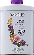 Fragrances, Perfumes, Cosmetics Yardley April Violets - Perfumed Talc