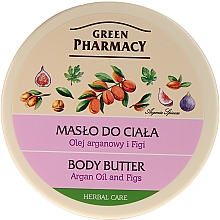 """Fragrances, Perfumes, Cosmetics Body Cream-Butter """"Argan and Fig"""" - Green Pharmacy"""