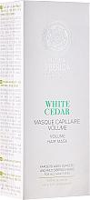 Fragrances, Perfumes, Cosmetics Volume Hair Mask - Natura Siberica Copenhagen White Cedar Volume Hair Mask