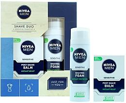 Fragrances, Perfumes, Cosmetics Set - Nivea for Men Shave Master Gift Set (sh/foam/200ml+post/shave/balm/100ml)