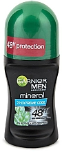 Fragrances, Perfumes, Cosmetics Roll-On Deodorant - Garnier Men Mineral Extreme Cool Roll On