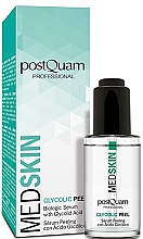 Fragrances, Perfumes, Cosmetics Glycolic Peeling Serum for Face - PostQuam Med Skin Glycolic Peeling Serum