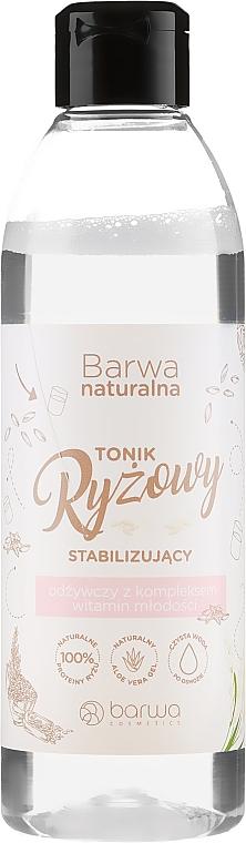 Stabilizing Nourishing Facial Rice Tonic - Barwa Natural