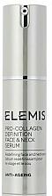 Fragrances, Perfumes, Cosmetics Face & Neck Serum - Elemis Pro-Collagen Definition Face & Neck Serum