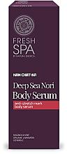 Fragrances, Perfumes, Cosmetics Anti Stretch Marks Serum - Natura Siberica Fresh Spa Kam-Chat-Ka Deep Sea Nori Body Serum